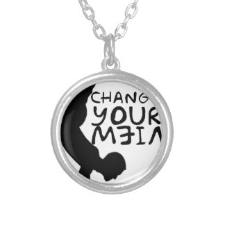 Change Your View Silver Plated Necklace