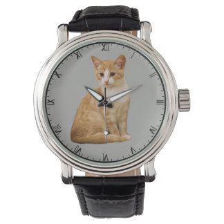 CHANGEABLE BACKGROUND COLOR-CAT WATCH