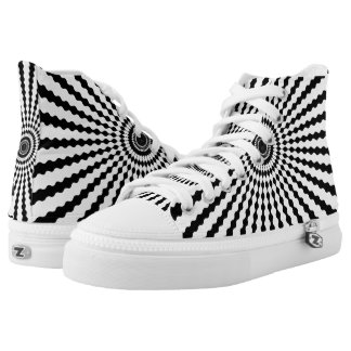 CHANGEABLE BACKGROUND COLOR-STARBURST HIGH TOPS