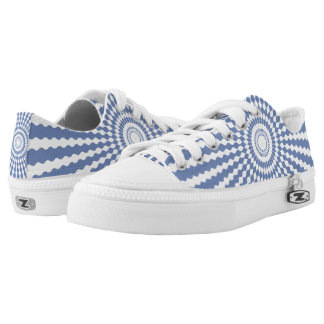 CHANGEABLE BACKGROUND-STARBURST-2 Low-Top SNEAKERS