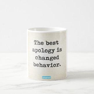 Changed behavior mug