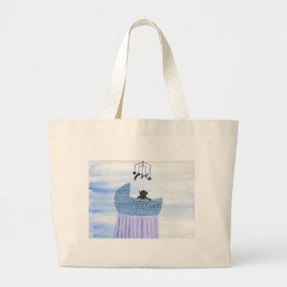 Changeling Child Large Tote Bag