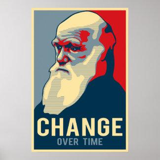 Changement au fil du temps poster