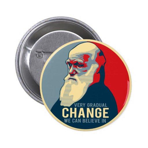 Changement très progressif que nous pouvons croire badges avec agrafe