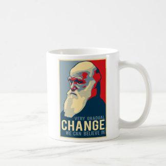 Changement très progressif que nous pouvons croire mug blanc