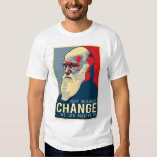 Changement très progressif que nous pouvons croire tshirt