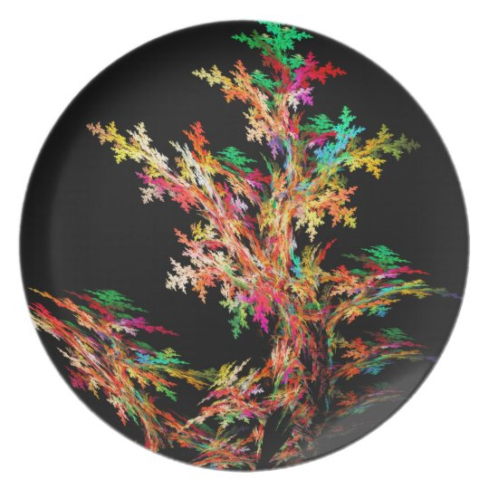 Changes Of The Seasons Melamine Plate