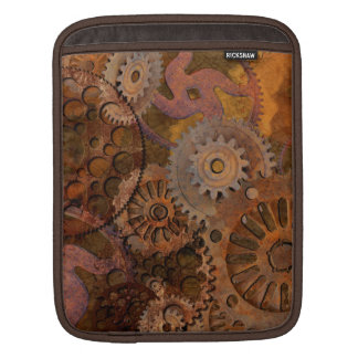 Changing Gear - Steampunk Gears & Cogs iPad Sleeves