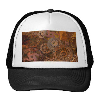 Changing Gear - Steampunk Gears & Cogs Trucker Hat