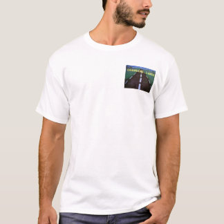 Changing Lanes Button-T T-Shirt