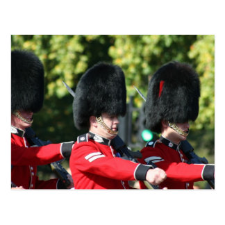 Changing of the Guards Buckingham Palace Postcard
