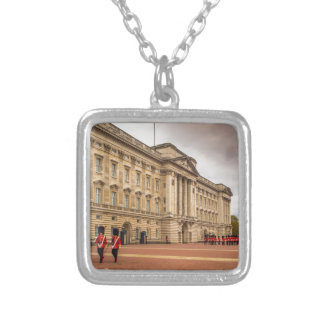 Changing the Guard Silver Plated Necklace