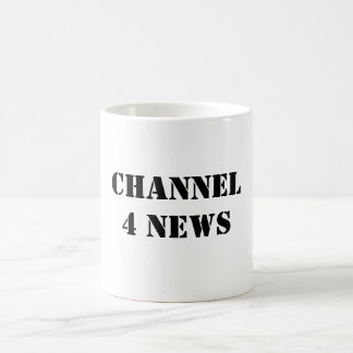 CHANNEL 4 NEWS COFFEE MUG