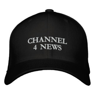 CHANNEL 4 NEWS EMBROIDERED BASEBALL CAP