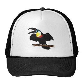 Channel-Billed Toucan Trucker Hats
