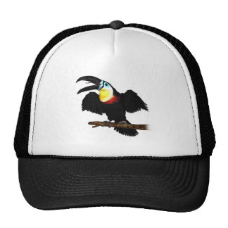 Channel-Billed Toucan Trucker Hat