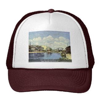 Channel,  By Sisley Alfred Trucker Hat