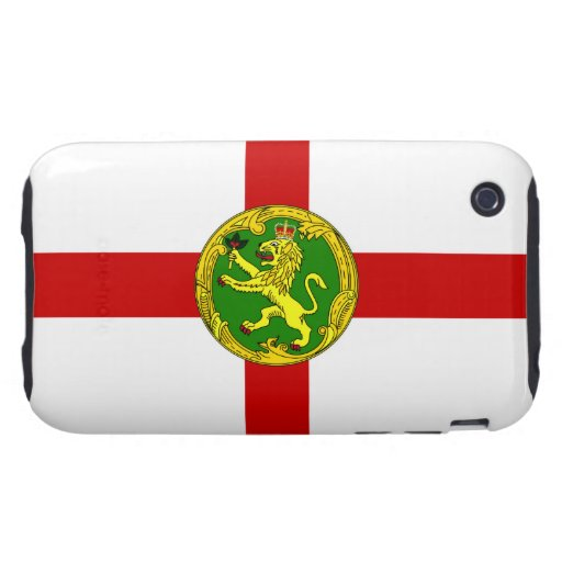Channel Islands - Alderney Flag Tough iPhone 3 Cases