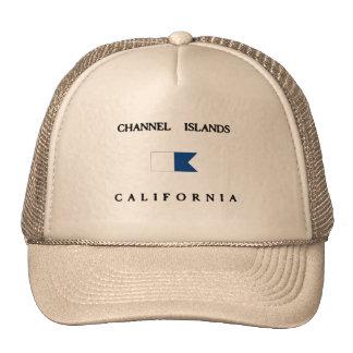 Channel Islands California Alpha Dive Flag Hat