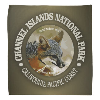 Channel Islands National Park (fox) Bandana