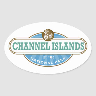 Channel Islands National Park Oval Sticker