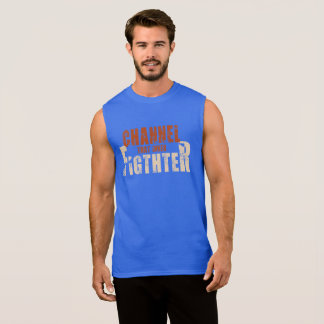 Channel That Inner Fighter Tank Top