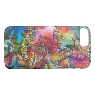 CHANSON DE ROLAND/ COMBAT OF KNIGHTS IN TOURNMENT Case-Mate iPhone CASE