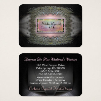 Chantbarge Elegant Round Edge Professional Business Card