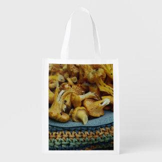 Chanterelles Reusable Grocery Bag