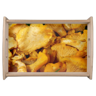 Chanterelles Serving Tray