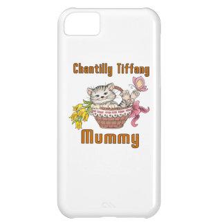 Chantilly Tiffany Cat Mom iPhone 5C Case