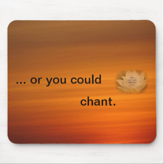 Chanting Reminder Mouse Mat - SGI Buddhist