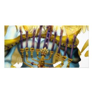 Chanukah Angel Custom Photo Card