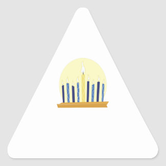 Chanukah Candles Stickers