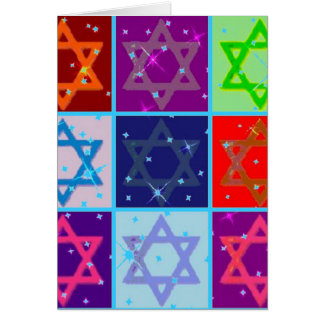 CHANUKAH GREETING CARDS W MATCHING POSTAGE