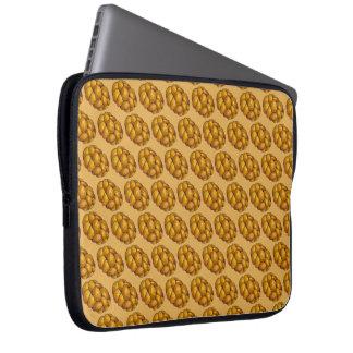 Chanukah Hanukkah Braided Challah Bread Holiday Laptop Sleeve