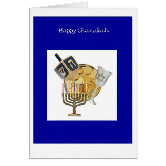 Chanukkah Dreidel Card