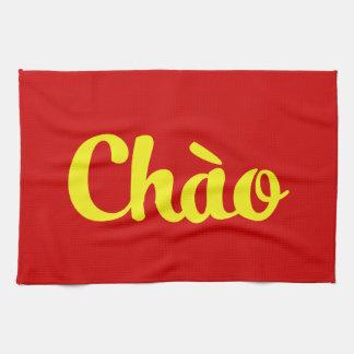 Chào / Hello ~ Vietnam / Vietnamese / Tiếng Việt Kitchen Towel