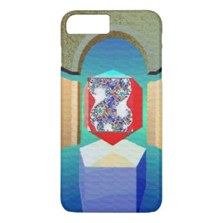 CHAOS AND ORDER TEMPLE Surreal Fractal Art iPhone 8 Plus/7 Plus Case