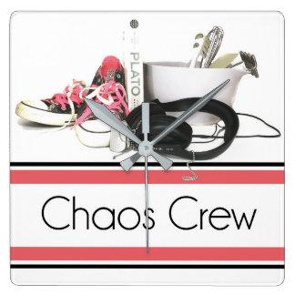 Chaos Crew clock