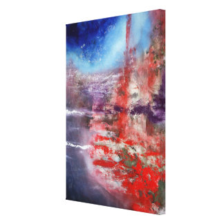 Chaos Division And Fear Canvas Print