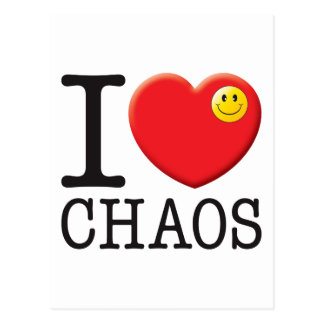 Chaos Love Postcard