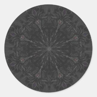 Chaos mandala sticker