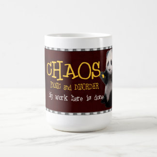 Chaos, My work here is done Mug