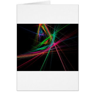 Chaos of rainbow card
