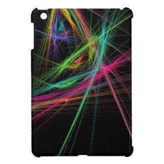Chaos of rainbow iPad mini cover