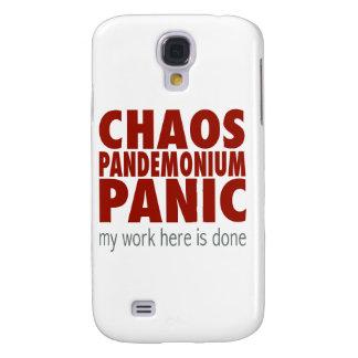 Chaos! Pandemonium! Panic!