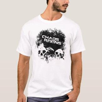 Chaos Reigns Skull T-Shirt