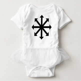 Chaos Star Baby Bodysuit