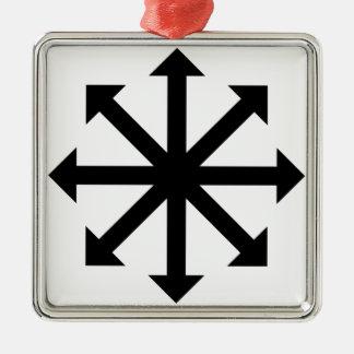 Chaos Star Metal Ornament